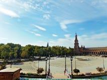 Plaza de Espana Fotografie Stock
