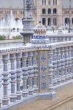 Plaza de Espana Building, Σεβίλη Στοκ φωτογραφία με δικαίωμα ελεύθερης χρήσης