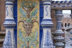 Plaza de Espana Building, Σεβίλη Στοκ Φωτογραφίες