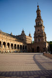Plaza de Espana, City Hall in Seville, Spain, Europe royalty free stock photos