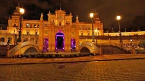 Plaza DE Espana de bouw stock footage