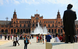 Plaza de Espana, detail Royalty Free Stock Image