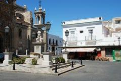 Plaza de Espana, EL Puerto de Σάντα Μαρία Στοκ φωτογραφία με δικαίωμα ελεύθερης χρήσης