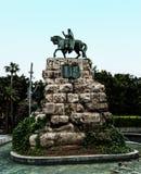Plaza de Espana en Palma de Mallorca, España Imagen de archivo