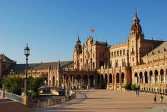 Plaza de Espana en Séville Photo libre de droits