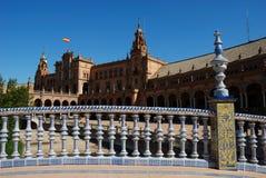 Plaza de Espana en Séville Image stock