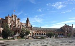 Plaza de Espana en Séville, Andalousie, Espagne Photo libre de droits