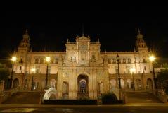Plaza de Espana en Séville, Espagne Photo stock