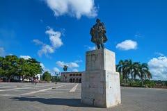 Plaza de Espana en Santo Domingo Imagen de archivo