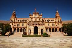 Plaza de Espana en Sevilla. Imagen de archivo libre de regalías