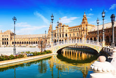 Free Plaza De Espana In Seville, Spain Stock Photography - 53770832