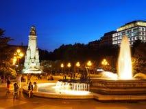 Plaza de Espana, Madrid royaltyfri bild