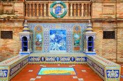 Plaza de Espana - Oviedo theme Royalty Free Stock Images
