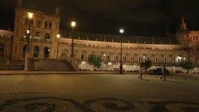 Plaza DE Espana panorama stock footage