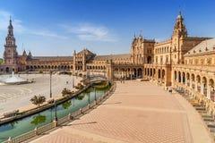 Plaza de Espana. In Seville Spain Royalty Free Stock Photography