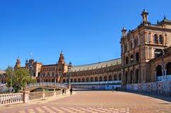 Plaza de Espana, Séville Photographie stock