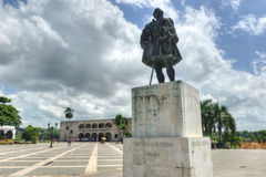 Plaza de Espana, Santo Domingo, Δομινικανή Δημοκρατία Στοκ Φωτογραφία
