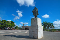Plaza de Espana in Santo-Domingo Stock Image