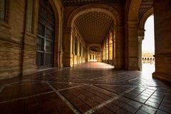 Plaza de Espana, Sevilha, Espanha Fotos de Stock