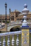 Plaza De Espana - Sevilha - Spain Imagem de Stock Royalty Free