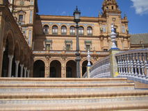 Plaza de Espana, Sevilla Stock Photography