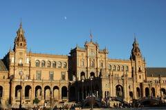Plaza DE Espana, Sevilla Stock Foto's