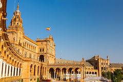 Plaza de Espana in Sevilla Royalty Free Stock Images