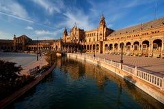 Plaza de Espana in Sevilla Royalty Free Stock Photography