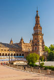 Plaza de Espana in Sevilla Stock Photos