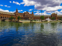 Plaza de Espana, Sevilla (2) Lizenzfreies Stockfoto