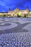 Plaza De Espana, Sevilla Imágenes de archivo libres de regalías