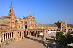 Plaza de Espana, Sevilla Royalty Free Stock Images