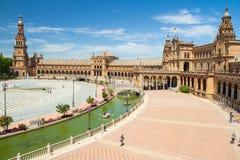 Plaza de espana sevilla Royalty Free Stock Photo