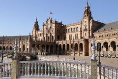 Plaza de Espana Sevilla, AndalucÃa, España, Europa Lizenzfreies Stockfoto
