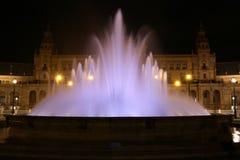 Plaza de Espana Sevilla, AndalucÃa, España, Europa Lizenzfreie Stockfotos
