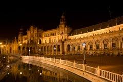 Plaza de Espana in  Sevilla Andalucia Stock Photography