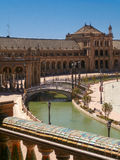 Plaza de Espana, Sevilla Royalty Free Stock Photography