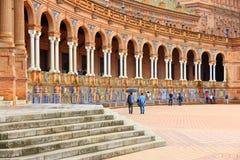 Plaza de Espana, Sevilla Royalty Free Stock Photo