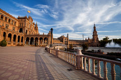 Plaza de Espana in Sevilla, Spain Stock Photography