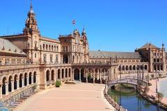 Plaza de Espana, Sevilla Royalty Free Stock Images