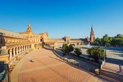 Plaza de Espana in Sevilla Royalty Free Stock Photo