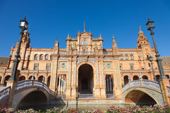 Plaza de Espana in Sevilla, Spain. Stock Photo
