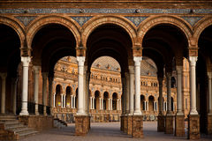 Plaza DE Espana, Sevilla - Spanje Royalty-vrije Stock Fotografie