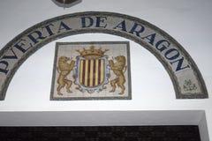 Plaza DE Espana in Sevilla werd gebouwd voor 1929 ibero-Americana Exposicion Royalty-vrije Stock Afbeeldingen