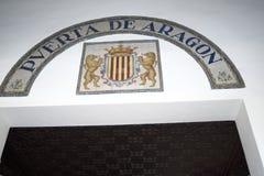 Plaza de Espana in Sevilla wurde für das Ibero-Americana Exposicion 1929 errichtet Stockfotos