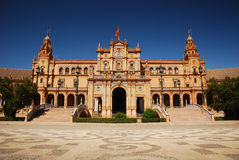 Plaza de Espana in Seville. Royalty Free Stock Image