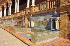 Plaza de Espana, Seville Royalty Free Stock Photo