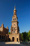 Plaza de Espana in Seville. Andalusia, Spain Stock Photography