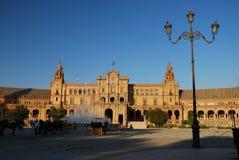 Plaza de Espana in Seville Stock Photos