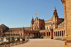 Plaza De Espana - Seville Royalty Free Stock Photo